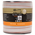 40mm x 100m Gallagher TurboStar Tape White