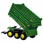 Rolly Multi trailer John Deere 3-axle Attachment for Ride Ons