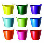 Tubtrugs Small Flexible 14 Litre Multi Purpose Bucket