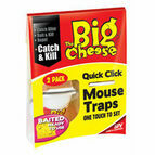 The Big Cheese Quick Click Mouse Trap - Twin Pack
