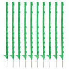 10 x 105cm Hotline Green CP2000G Multiwire Electric Fence Posts