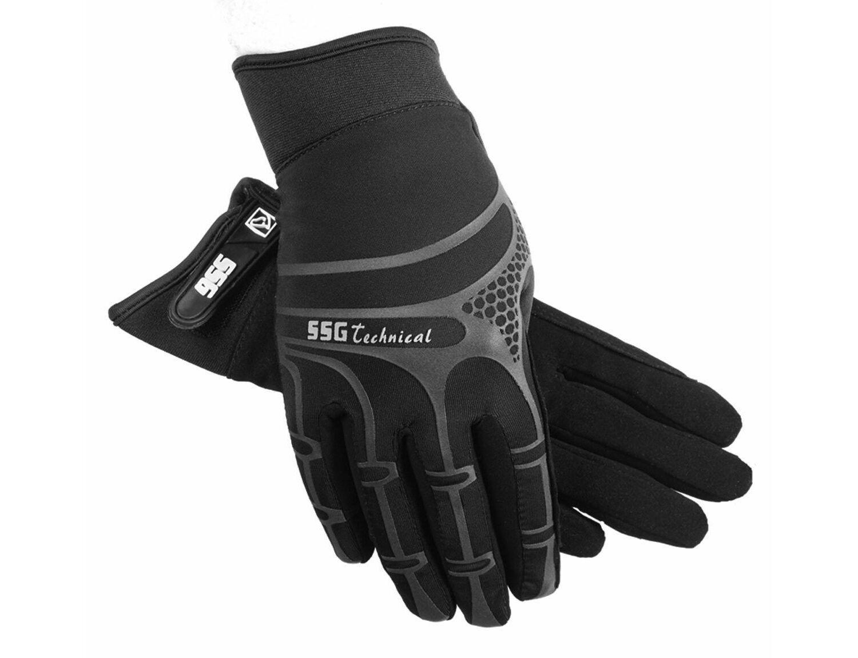 BLACK\7.5 SSG Digital Riding Glove