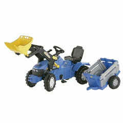 Rolly New Holland TM175 Ride-On + loader + NH farmtrailer