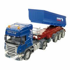 Siku Scania with tipping trailer 1:32