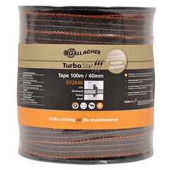 40mm x 100m Gallagher TurboStar Tape Terra (Brown)