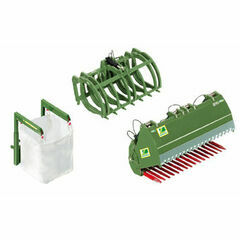 Wiking Front loader accessories - set B 'Bressel & Lade'  1:32