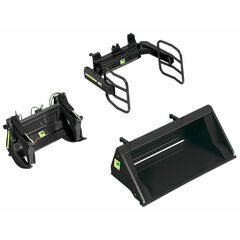 Wiking Front loader accessoiries set A black 1:32