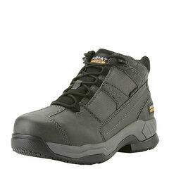 Ariat Contender Steel Toe Suede Safety Work Boot Charcoal