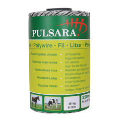 Pulsara 0.16mm Electric Fence Polywire - 400m