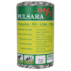 Pulsara 9-Conductor Electric Fence Polywire - 250m