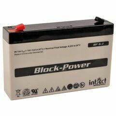Gallagher 6V 7Ah Battery (S17, S22)