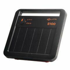 Gallagher S100 Solar Energiser with Battery (12V - 1,0 J)