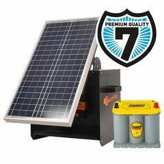 Gallagher S280 Solar Energiser (Energiser + Solar Panel + Battery + Solar Box)