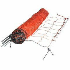 50m x 90cm Gallagher Orange Sheep Netting Single Pin