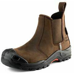 Buckler NKZ101BR Dark Brown Safety Dealer Boot
