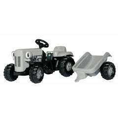 Rolly Toys rollyKid Little Grey Fergie Pedal Ride-On