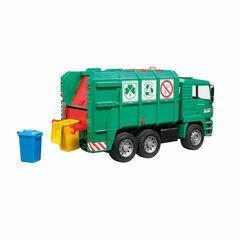 Bruder MAN TGA garbage truck (green) 1:16