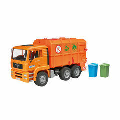 Bruder MAN TGA Garbage Truck (orange) 1:16