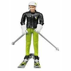 Bruder Skier with accessories 1:16