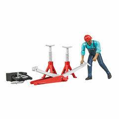 Bruder Figure-Set garage equipment 1:16