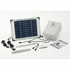 SolarMate SolarHub Chicken House Solar Light System
