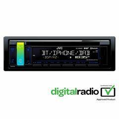 JVC KD-D98BT Car Stereo (DAB)