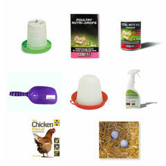 Tanner Trading Poultry Chicken Starter Kit (Without Coop)