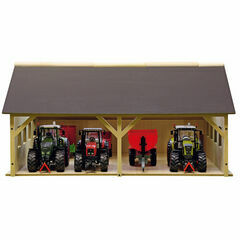 Kidsglobe 1:32 Wooden Barn Machinery Shed Small