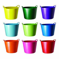 Tubtrugs Small Flexible 14 Litre Multi Purpose Bucket