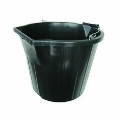 Stadium Heavy Duty Black Bucket - 3 Gallons