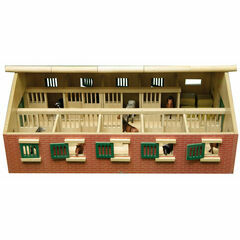 Kidsglobe 1:32 Equestrian Stable with Storage Room