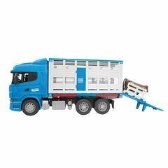 Bruder MAN Cattle Transportation Truck Including 1 Cow 1:16