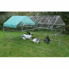 Galvanised Outdoor Poultry & Pet Animal Pen/Run