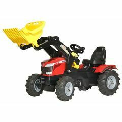 Rolly Farmtrac MF8650, loader with pneumatic wheels Ride-On
