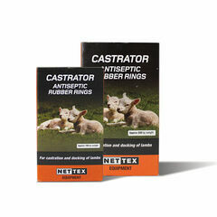 NETTEX Castration Rings - 100 Pack