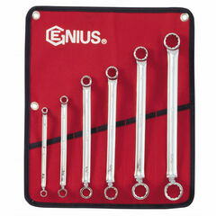 Genius Tools Imperial Offset Ring Spanner Set
