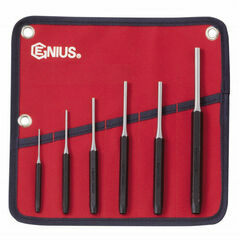 Genius Tools Metric Pin Punch Set