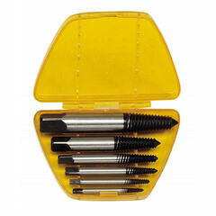 Genius Tools 6 Piece Screw Extractor Set