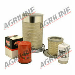 John Deere 6010, 6110, 6205, 6210, 6310, 6405, 6410, 6505 Engine Filter Service Kit