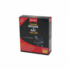 Rentokil Rodine Mouse & Rat Killer Plus Bait Trays - 50gm