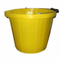 Heavy Duty Yellow Bucket - 3 Gallons