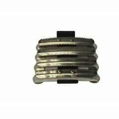 Bitz Metal Curry Comb Military PVC Strap