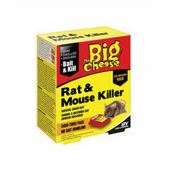 The Big Cheese Rat & Mouse Killer Bait Pack x 40 Gm