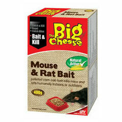 The Big Cheese Natural Active Mouse & Rat Bait x 400g