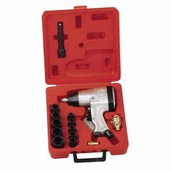 Genius Tools 16 Piece SAE Air Impact Wrench Set