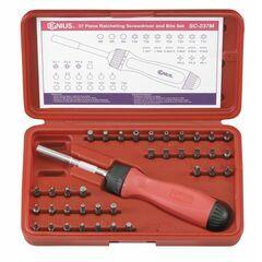 Genius Tools SC-237M 37 Piece 1/4