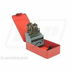 Cobalt Drill Bit Set 1-13mm