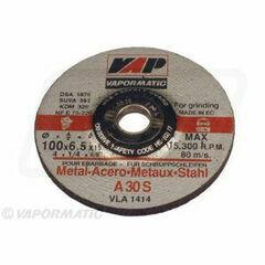 10 x 100mm Metal Grinding Disc