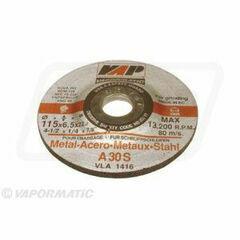 10 x 115mm Metal Grinding Disc