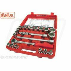 Genius Tools 22 Piece 1/2